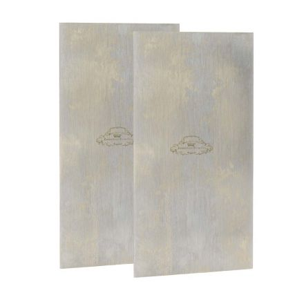 Crown Tools 20182-2PK 2-1/2 Inch x 5 Inch Cabinet Scraper - Flat