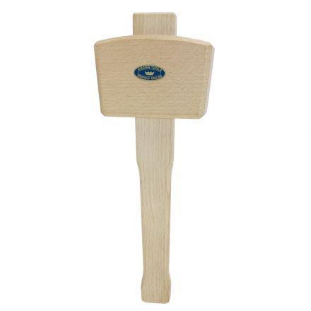 Crown Tools 106 20 oz 4-1/2 Inch Woodcarvers Mallet - Beechwood