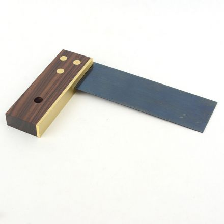 Crown Tools 125 6 Inch Try Square, Rosewood
