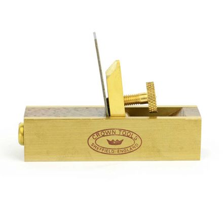 Crown Tools MPS Miniature Rosewood & Brass Scraper Plane